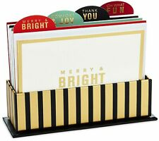 Hallmark 24 Notes Note Cards Christmas Holiday w Organizer Divider Tabs
