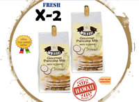 Lot of Two Bags - 8OZ MULVADI PANCAKE MIX COCONUT (Made only in Hawaii)