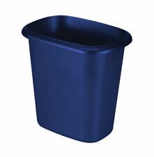Rubbermaid 1.5 gal. Blue Open Top Wastebasket