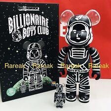 Medicom Be@rbrick Billionaire Boys Club Astronaut 400% + 100% BBC bearbrick Set
