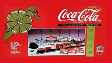 TRENO COCA COLA TRENINO - NEW COKE K-LINE FOR ALL SEASONS TRAIN SET 0-027 GAUGE