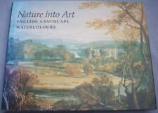 NATURE INTO ART English Landscape Watercolours BRITISH MUSEUM HB DW 1/1 Painting