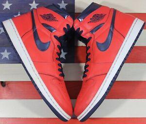 Nike Air Jordan 1 High OG David Letterman Crimson Red Retro i [555088-606] 10.5