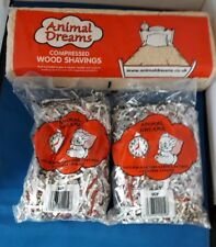 WOODSHAVINGS AND 2 X PAPER PET BEDDING HAMSTER GERBIL MOUSE RABBIT SAWDUST
