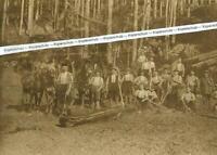 Holzmacher im Schwarzwald - Kinzigtal  - um 1925        - R 27-14