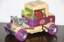 "Vintage 1960's DURHAM INDUSTRIES '20 Ford Model T Hot Rod 9 1/4"" Wind-Up Car"