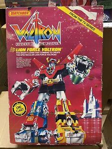 Vintage 1981 Y&K Voltron GB-36 Diecast  Lion Bot Set In Box (Rare Japanese)