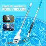 Cordless Swimming Pool Vacuum Cleaner Rechargeable Above Ground Cleaning Tool