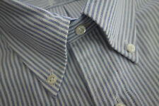 NWOT Brooks Brothers Blue University Button Down 16.5-33 Slim MSRP $95