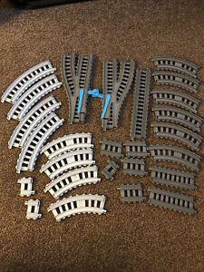 Thomas Train Track Spare Track Pieces Plastic Great Mix Bundles 28x Gullane 2013