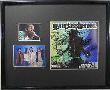 SIGNED GYM CLASS HEROES AUTOGRAPHED CD FRAMED MATTED GYMCLASSHEROES