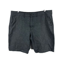 Guess Mens Shorts Size 40 Grey With Pockets