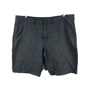 Guess Mens Shorts Size 40 Grey Pockets Chino 19.13