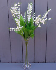 Künstlich Maiglöckchen Blumen - 6 x 59cm Sprays