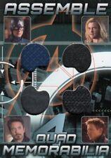 Avengers Assemble AQ-2 Quad Memorabilia Relic Card