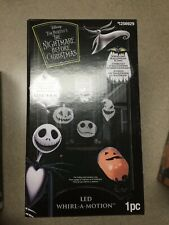 Disneys Tim Burton's Nightmare Before Christmas Led Whirl-a-MotionProjector 🎃