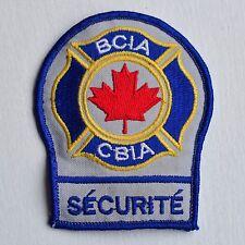 Canada Bureau Security Service Sécurité French Hat Patch Badge Insigne Logo Rare