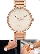 ⌚️⌚️⌚️⌚️Mimco New 💞$279 Spiralette Rose Gold TimePeace Watch + Box