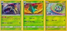 Venusaur Ivysaur Bulbasaur 3/73 2/73 1/73 Pokemon Card Shining Legends Set NM+
