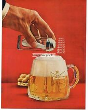 1965 Budweiser Beer Don't Add Salt! Vtg Print Ad