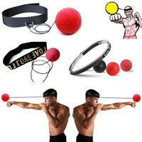 Speed Reflex Speed Training Boxing Punch Exercise  Head Band  Fight Boxeo Ball