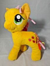"My Little Pony 11"" Apple Jack Plush Pony Braided Mane & Tail New Hasbro 2014"