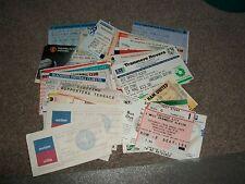 Aston Villa V John Robson X1 testimonios billete 1980s??? sin fecha Post Gratis
