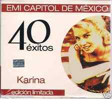 KARINA 40 hits CONCIERTO PARA ENAMORADOS baul de los recuerdos VIVIRE rumores