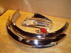 """Schwinn Phantom 26"""" Bicycle Chromed Fender Set Light & Glass Reflector"""