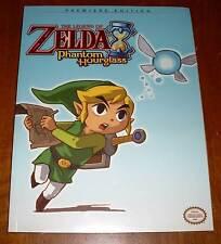 Zelda - Phantom Hourglass - Premiere Edition Spieleberater Lösungsbuch - Neu OVP