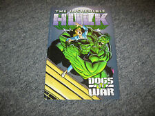 Marvel Comics The Incredible Hulk Dogs of War Tpb New