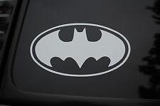 "Batman Vinyl Sticker Decal (V93) Oval Dark Knight 6"" x 5.5"" Car Window Laptop"