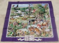 HERMES 100% SILK SCARF LIMITED EDITION MADISON AVENUE KERMIT OLIVER LILAC NEW