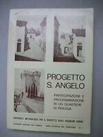 Perugia PROGETTO S.ANGELO partecipazione e programmazione in un quartiere