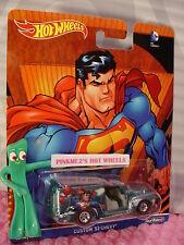2016 DC Comics Hot Wheels Superman CUSTOM '52 CHEVY☆Blue;Real Riders☆Pop Culture