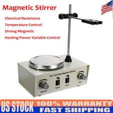 Us 79 1 Hot Plate Magnetic Stirrer Mixer Stirring Laboratory 1000ml Dual Control