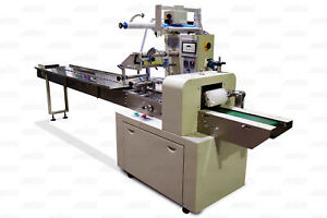 LCP866HF Horizontal Form Fill Seal Flow Wrapper Packaging Machine