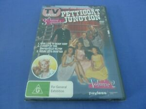 Petticoat Junction Vol 2 DVD 3 Classic Episodes R0 New Sealed Free Postage