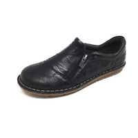 Clarks Tamitha Cattura Womens Black Leather Side Zipper Comfort Shoes US 7 B (M)
