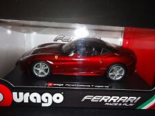 Bburago Ferrari California T Closed Top Dark Red 1/24