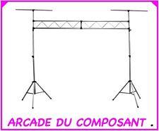 PORTIQUE PIED D' ECLAIRAGE 3 mètres de long POUR SONO (ref 89-1128) Poids 24,8Kg