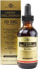Liquid Melatonin, Solgar, 2 oz Black Cherry 10 mg