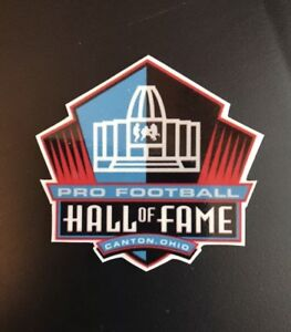 Hall Of Fame Decal Football Sticker NFL