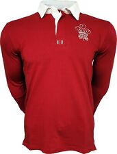 Olorun New Authentic Rugby Classic Vintage Wales Shirt (XS - 5XL)