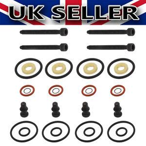 4X Injector Seals kit Bolts 038103 For Audi VW 1.4 TDI 1.9 TDI 2.0 TD 1417010997