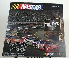 NASCAR The DVD Board Game 2005 ~2-4 Players~ Car Racing Game ~Family Ages 8+ NEW