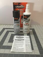 Fram AIRHOG AIR HOG Kit Air Filter Cleaning Recharge Kit 2 Piece K&N Compatible