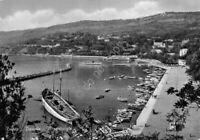 Cartolina Trieste Barcola Piccolo porto barche
