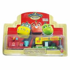 BOX LEARNING CHUGGINGTON WOODEN MAGNETIC TRAIN- RESCUE CARS SET