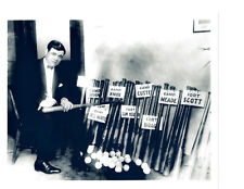 NEW YORK YANKEES BABE RUTH 8X10 PHOTO  HOF  BASEBALL ARMY BATS